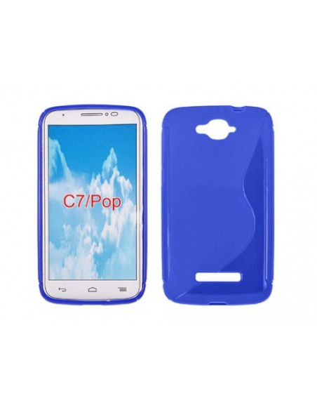 Capa Gel Traseira Para Alcatel One Touch Pop C7