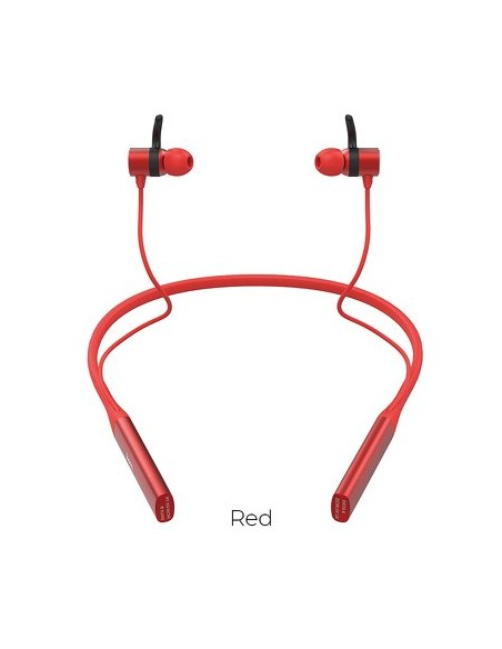Headset Hoco Selected Glamour Sports Wireless S18 Red