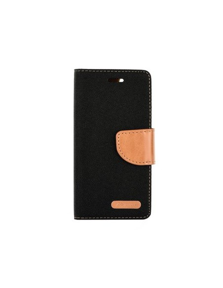 Capa Livro Horizontal Para Apple Iphone X/Xs Preto
