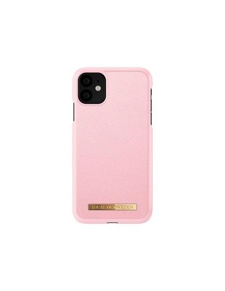 Iphone Ideal Of Sweden Iphone 11 Saffiano Cor-De-Rosa Apple