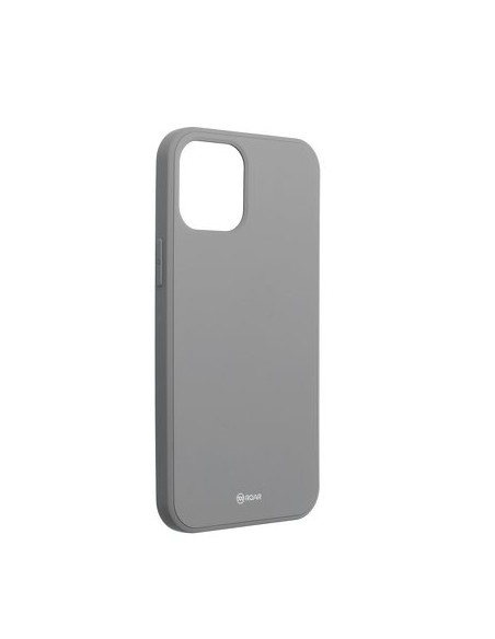 Iphone Capa Silicone Traseira Roar Colorful Case - Iphone 12 Pro Max Grey Apple