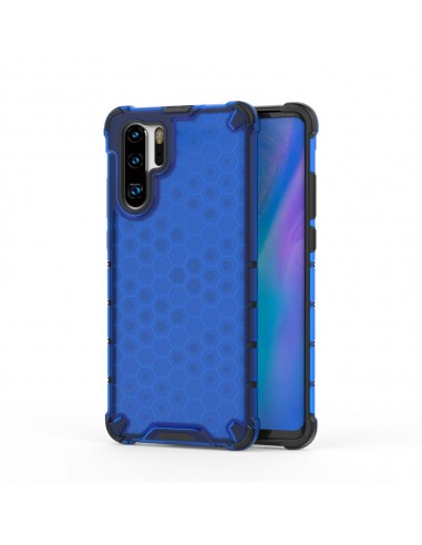 Capa Silicone Honeycomb Lmobile Huawei P30 Pro - Azul l LMobile.pt