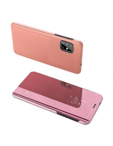 Capa Clear View Lmobile Galaxy S20 - Rosa l LMobile.pt