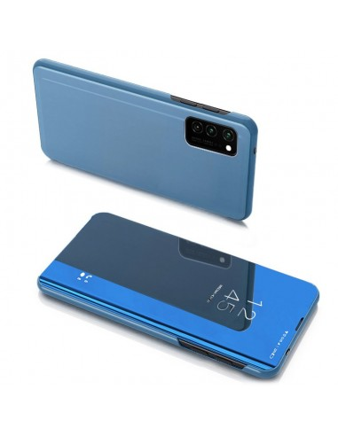 Capa Clear View Lmobile Galaxy Note 20 - Azul l LMobile.pt