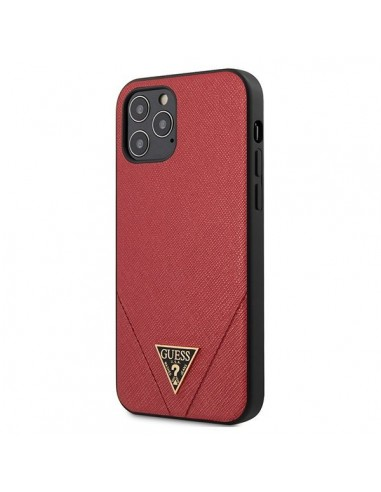 Capa Traseira Guess Iphone 12 Pro Max - Vermelho l LMobile.pt