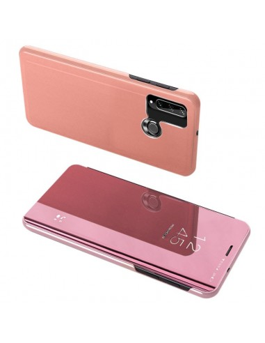 Capa Traseira Clear View LMobile Y6p - Rosa