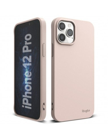 Capa Silicone Ultra Thin Air S Iphone 12 Pro/12 - Rosa l LMobile.pt