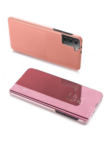 Capa Clear View Lmobile Galaxy S21 Ultra 5G - Rosa l LMobile.pt