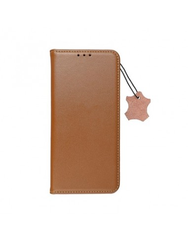Capa Leather Forcell Smart Pro Samsung Galaxy A02s Castanho