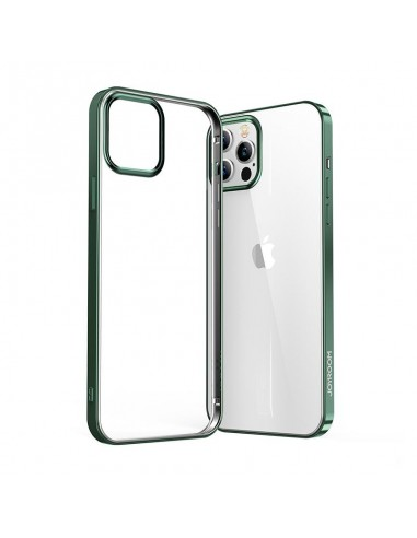 Capa Joyroom New Beautiful Series Ultra Thin Electroplated Frame Iphone 12 Pro / Iphone 12 Verde (Jr-Bp795) l LMobile.pt