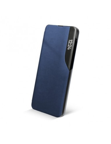 Capa Magnética Smart View Book Samsung A02s Navy l LMobile.pt