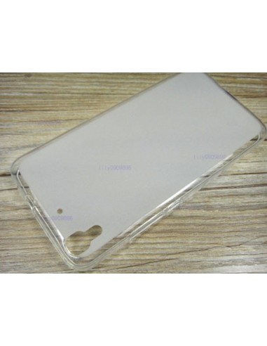 Capa Silicone Frosted Lmobile Huawei Y6 - Transparente
