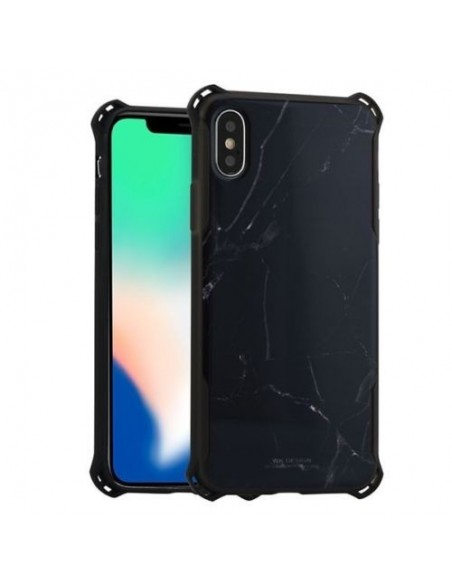 Capa Traseira Para Apple Iphone X/Xs Preto mod.1655